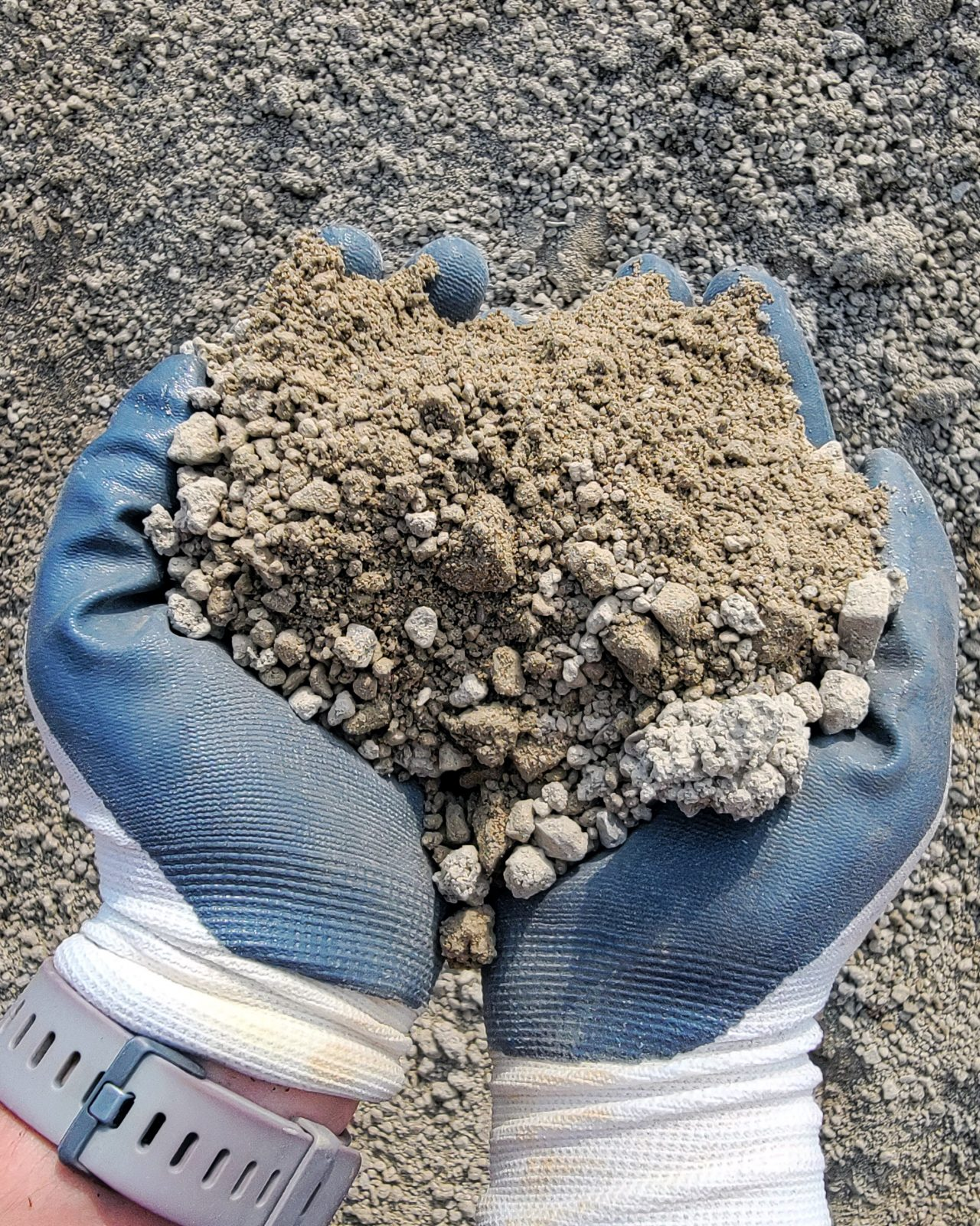 """#8 Limestone 1/2"""" with dust"""