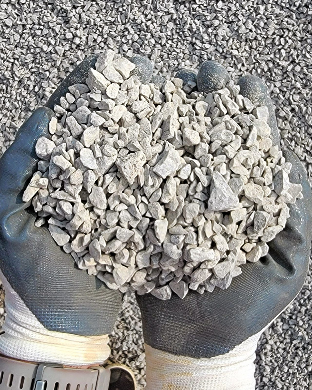 """#8 Limestone 1/2"""" without dust"""